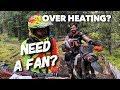 Do KTM TPI Bikes Run HOTTER? Do I Need A Radiator Fan??