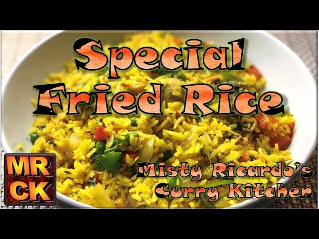 Special Fried Rice (Indian Restaurant Style)