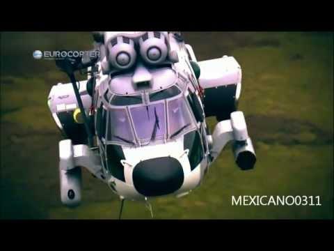 EC-725 Cougar En Accion Fuerza Aerea Mexicana