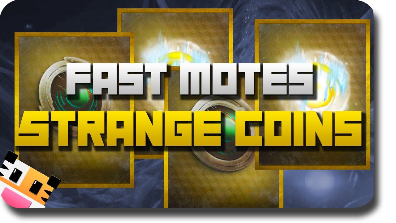 Destiny quot strange coins quot how to get quot fast strange coins