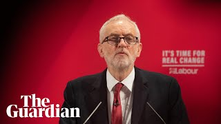Jeremy Corbyn makes a statement on NHS – as it happened