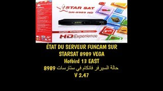 Hispasat 30 0 Sur Starsat Sr 4040 Hd Vega Via Serveur Funcam