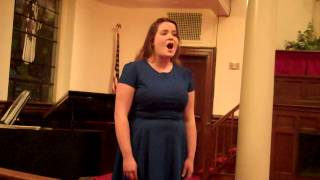 "Madeline Hamrick- ""Come to the Fair"" (soprano)"