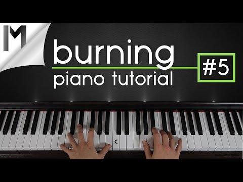 Burning ~ Piano Tutorial ~ Part 5/5 | Ludovico Einaudi