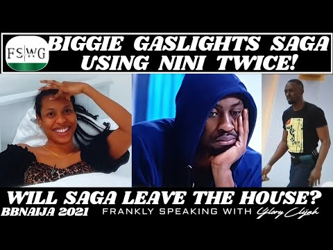 Download BBNAIJA 2021: BIGGIE GASLIGHTS SAGA USING NINI TWICE 🤣   FRANKLY SPEAKING WITH GLORY ELIJAH   FSWG