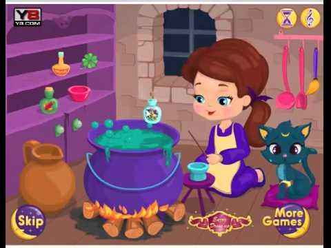Game Cô Phù Thuỷ Nhỏ