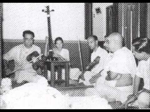 mysore t. chowdiah - kalyani - nidhisala - tyagaraja