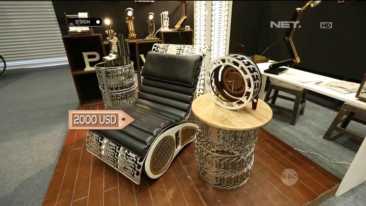 Furniture Antik Kreasi Unik Desain  Canggih dari  Barang