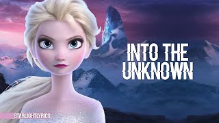 Gambar cover Frozen 2 - Into The Unknown ft. AURORA (Lyric Video) HD