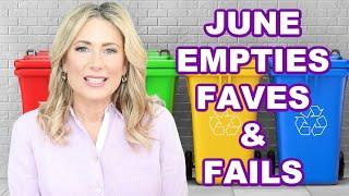 Empties: Faves & Fails| MsGoldgirl