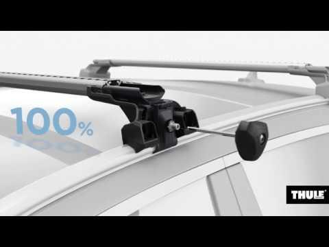 Thule Edge Flush Rail видео