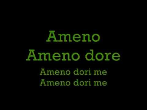 Ameno Song Lyrics