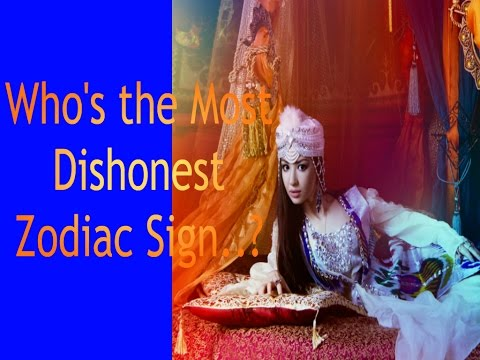 Who's the Most Dishonest.. Zodiac Sign?