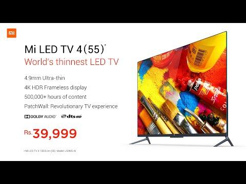 Mi LED Smart TV 4   Mi TV 55   Mi India   part1