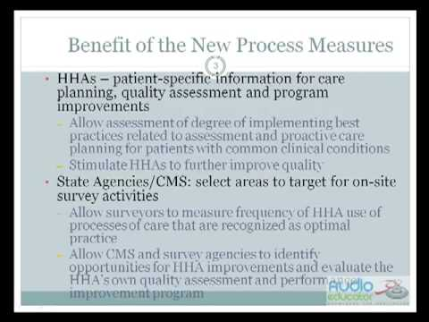 Home Health Boot Camp for New OASIS-C Process Measures - YouTube