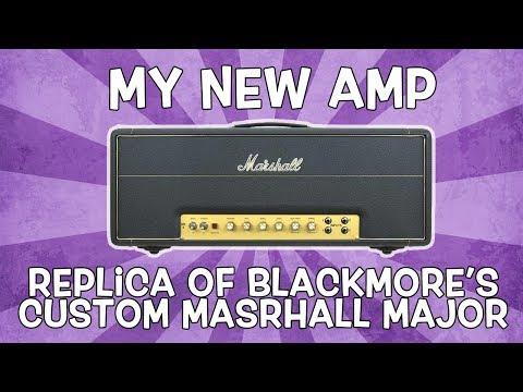 Blackmore Mod Custom Marshall Major Replica Aka My New Amp (Sound Like Ritchie Blackmore)