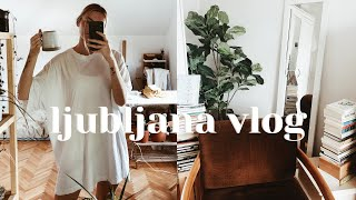 living alone vlog | apartment updates, food \u0026 catch ups 🌿