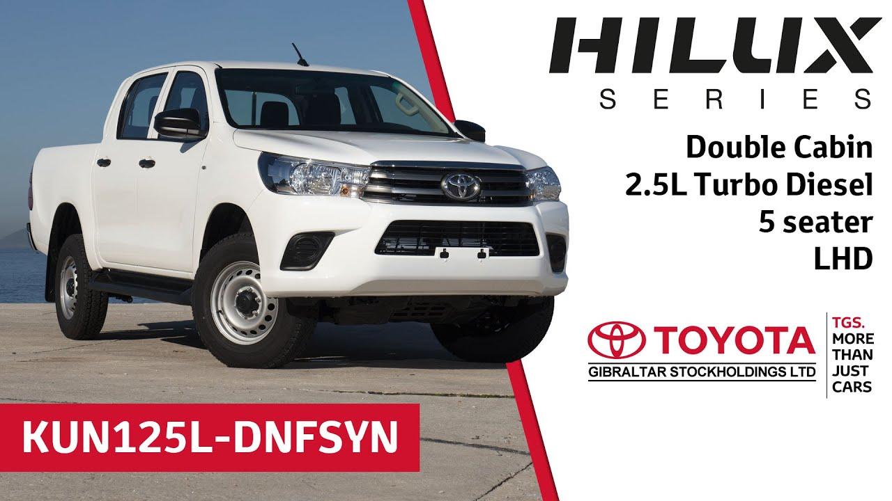 Toyota Turbo Diesel Truck >> Toyota Hilux Double Cabin 2 5l Turbo Diesel 5 Seater Lhd