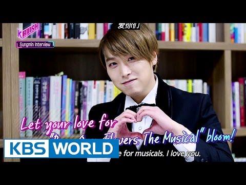 SuperJunior Sungmin's Special Interview [KBS World Magazine K-RUSH / 2017.03.17]
