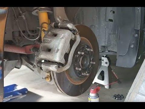 2004 for Infiniti G35 with Single Piston Caliper Brake Rotors /& Pads Rear