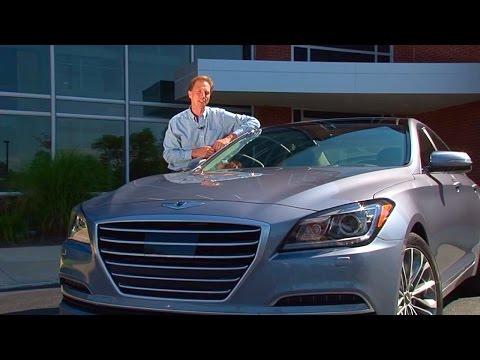 2015 Hyundai Genesis 3.8 AWD TestDriveNow.com Review By Auto Critic Steve Hammes TestDriveNow