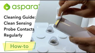 Cleaning Guide: Clean sensing probe contacts regularly