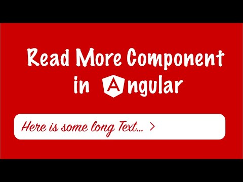 How to create a Read More component in Angular