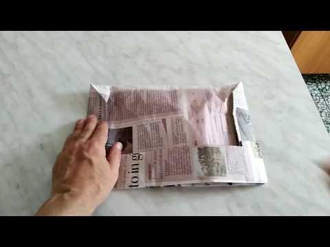 sconto speciale di prezzi economici a basso costo Cappello di carta da imbianchino muratore - YouTube