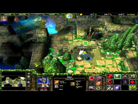 Warcraft 3 FT Hard Elf 4 - Wrath of the Betrayer