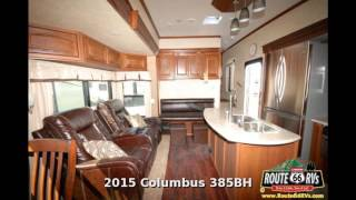 2015 Palomino Columbus 385BH, Fifth Wheel Bunk House, in Claremore, OK