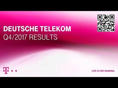 Social Media Post: Deutsche Telekom's Q4-2017 investor conference call