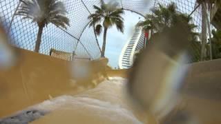 Полный путь водопада наверх. Аквапарк Wild Wadi Дубай(, 2012-11-29T21:24:45.000Z)