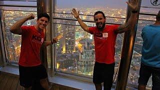 Burj Khalifa & Last Days In Dubai | WeTrainWhereWeWant 08