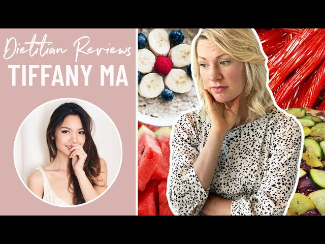 Dietitian Reviews TIFFANY MA What I Eat In A Day