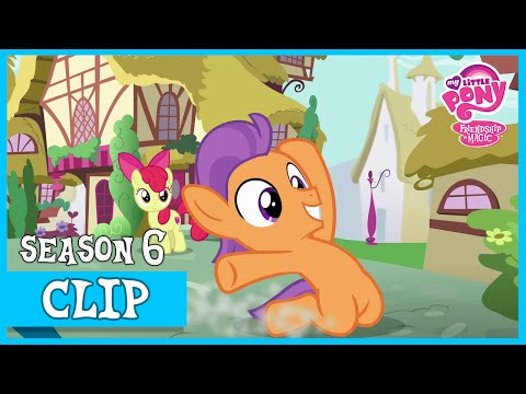 Apple Bloom Meets Tender Taps (On Your Marks) | MLP: FiM [HD]