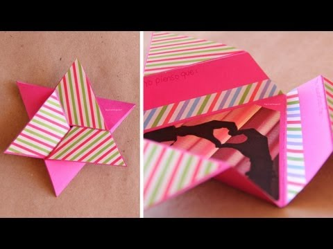 Tarjeta Estrella Scrapbook [FACIL] // Star card DIY
