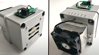 How To Build A Peltier Mini Air Conditioner
