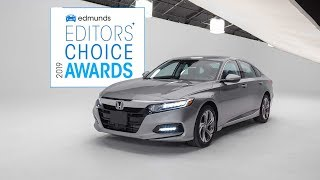 2019 Honda Accord: The Best Sedan | 2019 Edmunds Editors' Choice