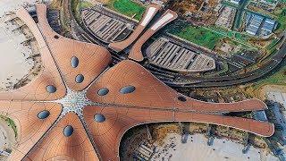 Новый мега-аэропорт Китая за $12 млрд | Строительство аэропорта