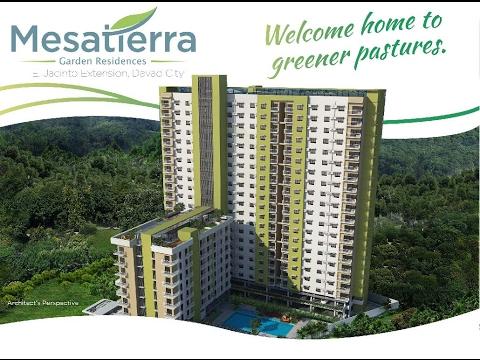 Mesatierra Garden Residences Condo in Davao City by Cebu Landmasters, Inc.