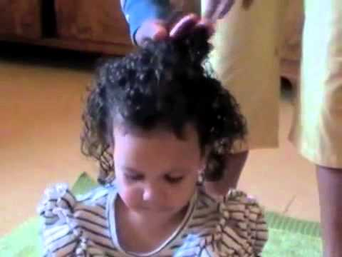 Curly Hairstyle For Toddler : 203 styling mixed race curly kids hair with original sprout youtube