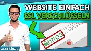 SSL ZERTIFIKAT INSTALLIEREN (Kostenlos): WordPress Website Auf HTTPS Umstellen | All Inkl | Tutorial