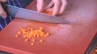 Basic Vegetable Cuts - Brunoise