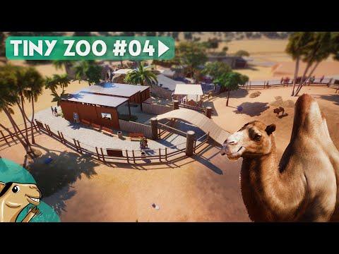 Tiny Zoo - Camel Area - Planet Zoo Hardmode Gameplay