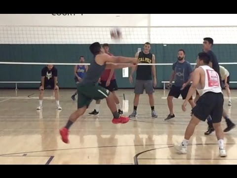 Open Gym Volleyball Highlights (Part 2/2) - 6/23/16
