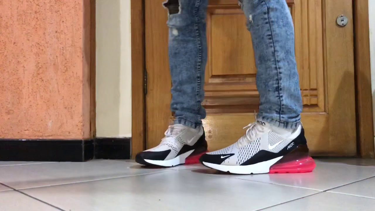 plus récent 281e2 fe13e NIKE AIR MAX 270 ON FEET