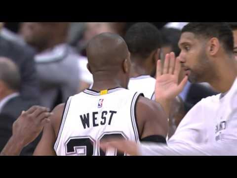 David West Hits the Three
