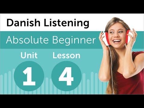 Danish Listening Practice - Reading a Danish Journal