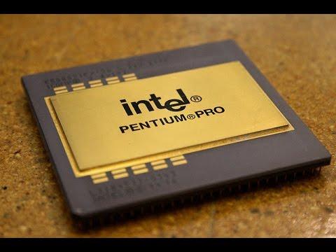Gold Recovery Computer Scrap Pentium Pro CPU