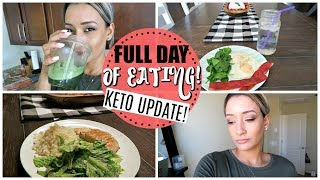 WHAT I EAT IN A DAY LOW CARB/KETO UPDATE